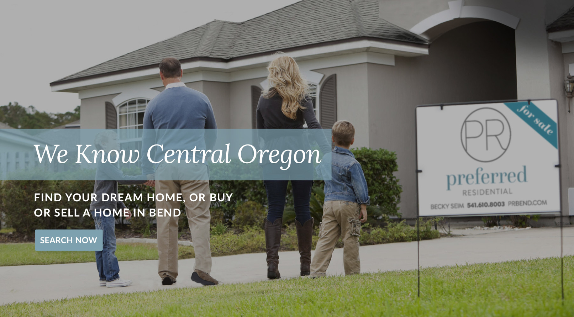 Buying a home in Central Oregon
