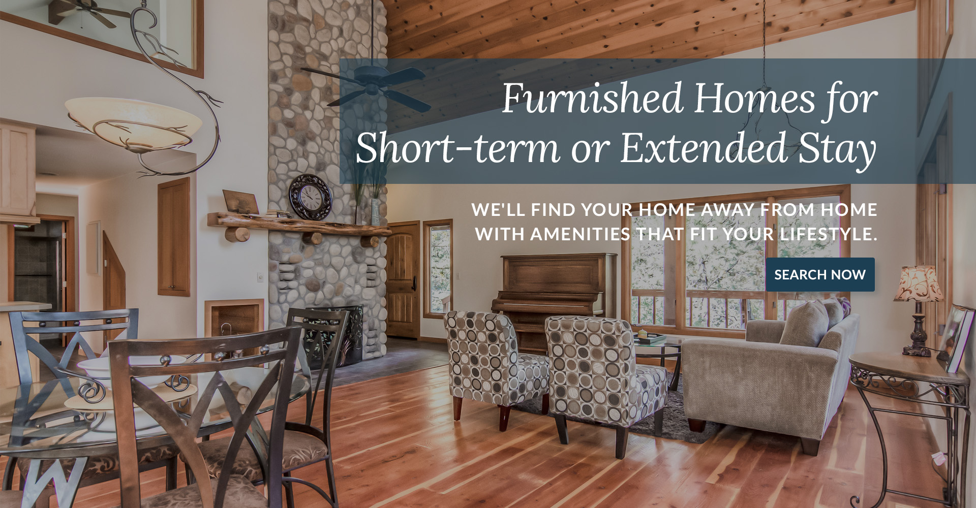 Furnished rentals for 30 days or more